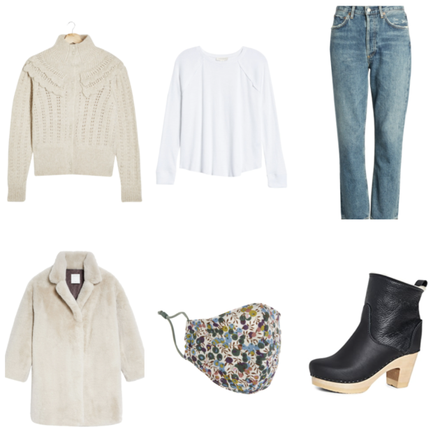 what to wear for an outdoor dinner date in winter